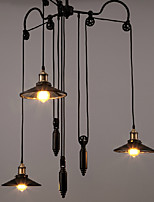 Chandeliers Mini Style Rustic/Lodge/Retro Living Room/Bedroom/Dining Room/Study Room/Office Metal