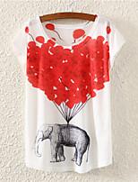 XIXI Women's  Fashion Summer 3D T Shirt(Cotton Blends)