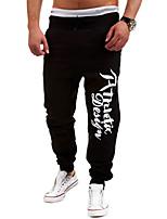 Men's Casual/Sport Print Sweatpants Pants