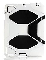 Задние панели (силикон , Ассорти из цветов) - Специальный дизайн - Яблоко IPad 2/iPad 4/iPad 3