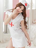 Women's Cotton Blend Nurse Uniforms Ultra Sexy/Suits Nightwear/Lingerie