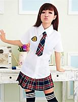Women's Cotton Blend Cute Student Uniforms Ultra Sexy/Suits Nightwear