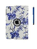 360⁰ Случаи (Кожа PU , Ассорти из цветов) - Специальный дизайн - Яблоко IPad 2/iPad 4/iPad 3