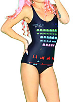 Digital Game Spandex Women's Swimsuit