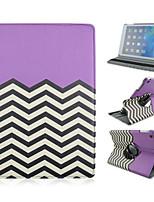 360⁰ Cases ( Cuir PU , Vert/Bleu/Incarnadin/Violet ) - Design spécial pour Pomme iPad 2/iPad 4/iPad 3