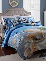 Multi Color Poly/Cotton Full Duvet Cover Sets