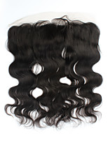 Virgin Human Hair Remy  Malaysia Lace Frontal Closure 13x4 Ear To Ear Lace Frontal With Baby Hair