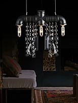 Chandeliers Mini Style Rustic/Lodge/Retro Living Room/Bedroom/Dining Room/Study Room/Office Metal