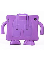 Coques Arrière ( Silicone , Couleurs assorties ) - Design spécial pour Pomme iPad 2/iPad 4/iPad 3