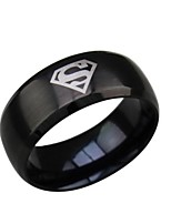 Ring Wedding / Party / Daily / Casual / Sports / N/A Jewelry Titanium Steel Men Statement Rings 1pc,7 / 8 / 9 / 10 / 11 / 12Gold / Black