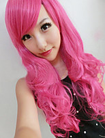 The New Harajuku Wig Ladies' Non-mainstream Mei Red Curly Hair Wig 70 cm