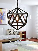 Chandeliers Rustic/Lodge/Retro Living Room/Bedroom/Dining Room/Study Room/Office Metal