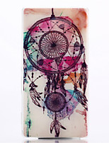 Dream Catcher Pattern TPU Soft Cover for Sony Xperia M2 S50h