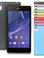 Big D ultra matte mince affaire pour sony xperia z2 (de couleurs assorties)