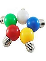 ding yao Lâmpada Redonda LED E26/E27 3W 24 LM 5000-7500 K Branco Frio / Vermelho / Azul / Amarelo / Verde 1 SMD 5730 1 pç AC 220-240 V