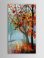 שמן iarts ציור מופשט מודרני סכין אדר לאורך בד מצויר ביד עם מסגרת נמתח כביש