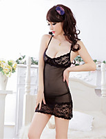 Women's Lace Lingerie/Ultra Sexy/Suits Transparent Backless Nightwear