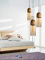 Chandeliers Mini Style Modern/Contemporary Living Room/Bedroom/Dining Room/Kitchen/Study Room/Office Wood/Bamboo