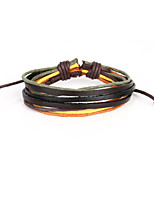 Vilam® Vintage Handmade Woven Leather Bracelet The Real Products May Be A Bit Different Because It's Handmade