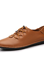 Men's Oxfords Fall Winter Formal Shoes Nappa Leather Outdoor Office & Career Party & Evening Casual Big Size
