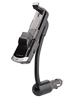 Bluetooth Handsfree Car Kit To Cigarette Lighter, Bluetooth 4.0/FM Transmitter/Car Charger/Mobile Phone Holder