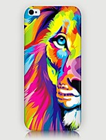 iPhone 7 Plus Colorful Lion Pattern Back Case for iPhone5/5S
