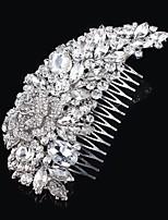 Vintage Design Wedding Bride Crystal Combs Hair Accessior