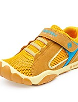Boys' Shoes Outdoor/Athletic/Casual Faux Suede Fashion Sneakers Yellow/Navy