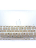 Gold-Plastic Ultra Thin Soft Keyboard Protector Cover Skin for MacBook Pro 13.3/15.4