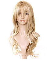 The New Wig Women's Blonde Face Lovely Curly Hair Wig70 cm