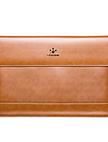LENTION for Macbook Air 13 inch Genuine leather Laptop Bags with Magnetic Leather Sleeve Bag Case Cover More Colors