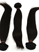 3Pcs /Lot 10''-28'' Brazilian Remy Hair Extensions Natural Black Straight Hair Curly Unprocessed Raw Weave Virgin Hair