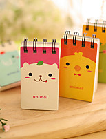 Cute Animals Business Multifunction Paper Notepads Creative Notebooks (Radnom Color)