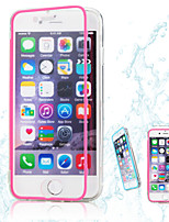 Para Funda iPhone 6 / Funda iPhone 6 Plus Transparente Funda Cuerpo Entero Funda Un Color Suave TPU iPhone 6s Plus/6 Plus / iPhone 6s/6