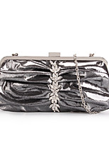 Women's Diamante Shimmery Evening Bag Clutch Cocktail Party Handbag GA15182