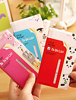 Strip Candy Animals Cute/Business/Multifunction Paper Notepads Creative Notebooks Self-Stick Notes