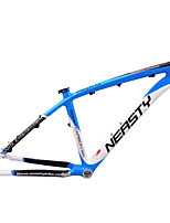 Neasty Brand MB-NT02 Full Carbon Fiber MTB Frame Blue White Color 26er Frame 15