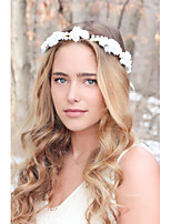 Rose And Pearl Hair Crown, Wedding Headband, Bridal Headpiece, Wedding Headpiece, Wedding Hair Accessories