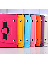 360 Degree Rotating Split Hand Strap Leather Case Stand Cover for Apple iPad 2/3/4(Assorted Colors)