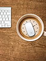 чай с дизайнерской молоко декоративной коврик для мыши