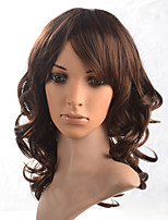 2015 Women Ombre Fashion Natural Wavy Janpanese Heat Resistant Synthetic Hair Wig 5911-#2612 18