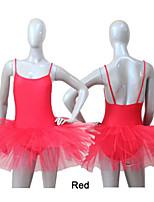 Tutús y Faldas ( Negro/Rosa/Rojo/Royal Blue/Blanco , Nylón/Tul/Licra , Ballet/Desempeño ) - Ballet/Desempeño - para Mujer/Niños