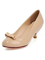 Women's Shoes Faux  Low Heel Round Toe/Closed Toe Pumps/Heels