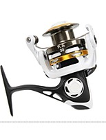 HAIBO STEED 30 All Aluminum Alloy 5.2:1 9 Ball Bearings Spinning Spinning Reels Exchangable