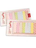 Cute/Business/Multifunction Paper Notepads Creative Notebooks Self-Stick Notes (Random Color)