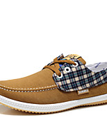 Men's Shoes Casual Canvas Fashion Sneakers Blue/Gray/Khaki