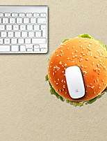 The Hamburger Design Decorative Mouse Pad
