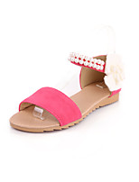 Women's Shoes Flat Open Toe Sandals with Pearls More Color Available