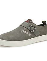 Herenschoenen-Buiten / Kantoor & Werk / Sport-Bruin / Grijs / Beige-Suède-Modieuze sneakers