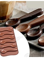 Fashion Chocolate Mold Ice Jelly Cake Decorating Kitchen Sweet Food Bakeware Cooking Cake Tools (Random Color)